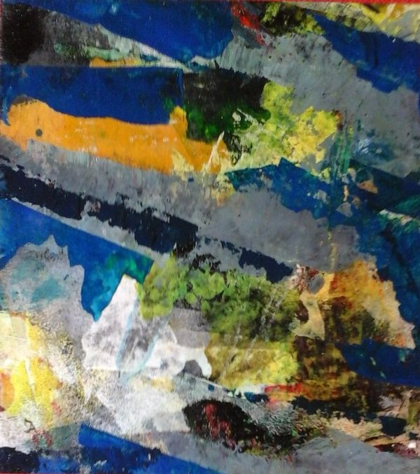 VIEW - Pittura,  16,9x16,1 in, ©2015 da jac ansems -                                                                                                                                                                          Abstract, abstract-570, Arte astratta