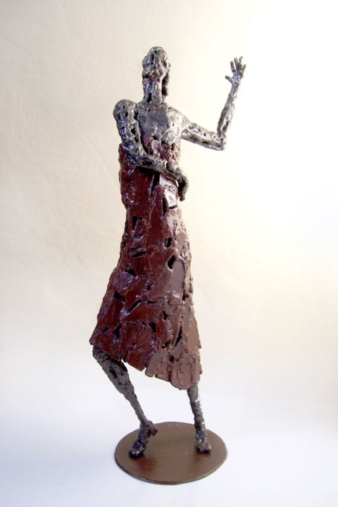 Flamenca - Sculpture,  43 cm ©2008 by Jaco -            sculpture, fer, soudé, stage