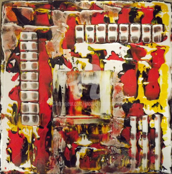 Painting, acrylic, abstract, artwork by Jacqueline Morandini