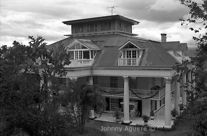 Replica - Photography,  16x20x0.4 in, ©2003 by Johnny Aguirre -                                                                                                          house, Black and White