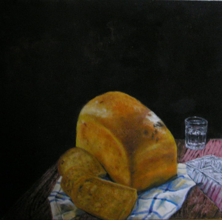"""Painting titled """"Daily bread"""" by Jakob Sørensen, Original Art,"""