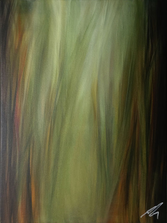 """Painting titled """"Long Gone"""" by James Rooney, Original Art, Oil"""