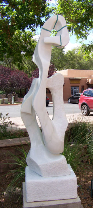 Sculpture, abstract, artwork by Jan Moore