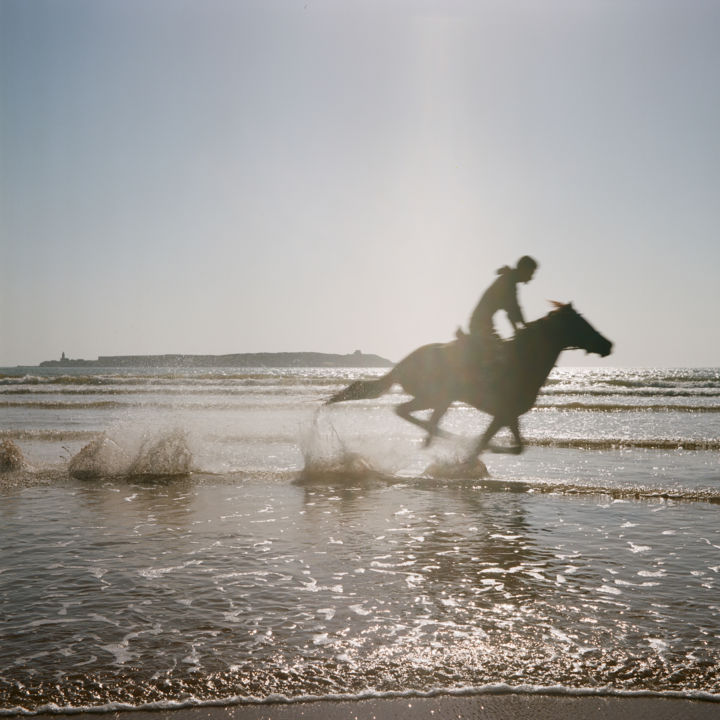 """Photography titled """"Horse"""" by Jan Maghreb, Original Art, Analog photography"""