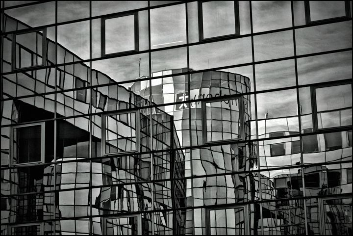 Mirrors - Photography, ©2018 by Jan Schrijver -                                                              Black and White