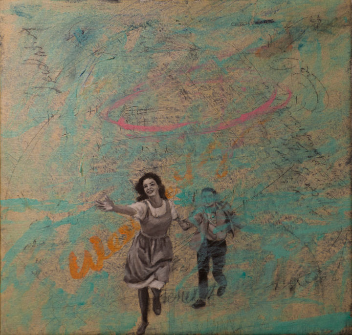 """Painting titled """"from The First Man…"""" by Javid Andalib, Original Art, Acrylic"""