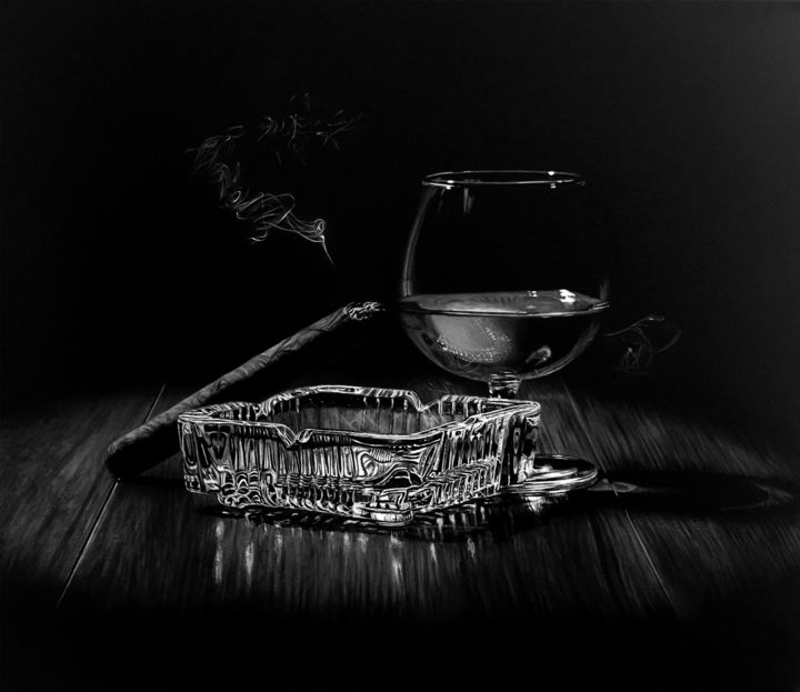 """Photography titled """"After Hours IV B/W"""" by João Bello (JBello Studio), Original Art, Manipulated Photography"""