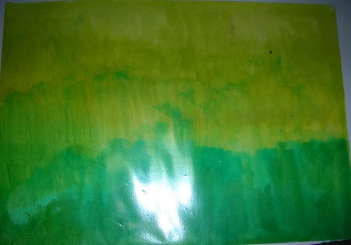 """Painting titled """"Field - Magnified"""" by Joyce Chua, Original Art,"""