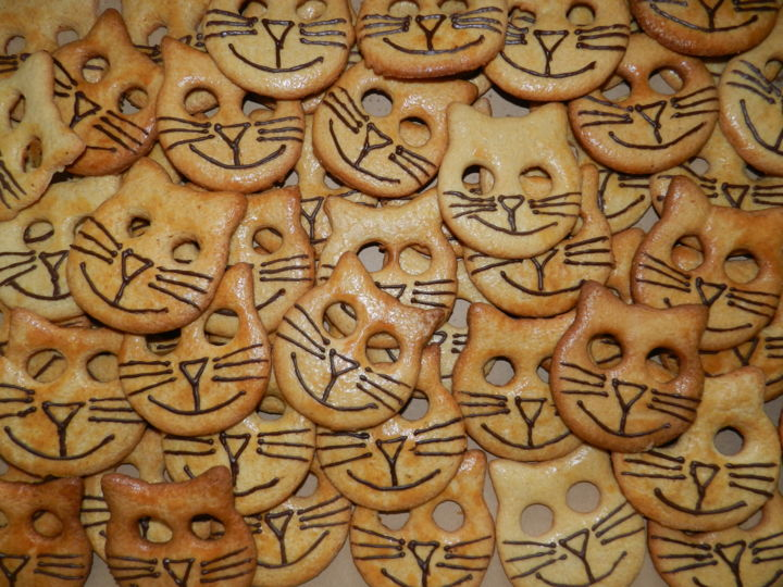 GÂTEAUX CHATS - Artcraft ©2015 by Le livreur de chats -                            Animals, GATEAUX, CHATS, SAINT MICHEL EN L'HERM, CAT, CATS, vendée, VENDEE