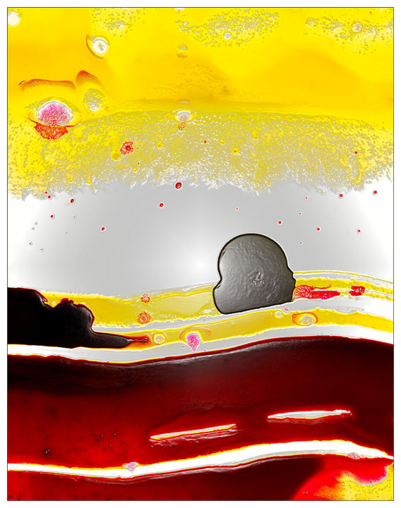 """Photography titled """"'Paysage Matinal so…"""" by Jean-Noël L'Harmeroult, Original Art, Manipulated Photography"""