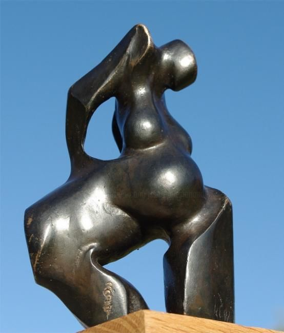 Centaure 1 - Sculpture,  5.5 in, ©1993 by Jean-Charles Ferrand -                                                              sculpture bronze