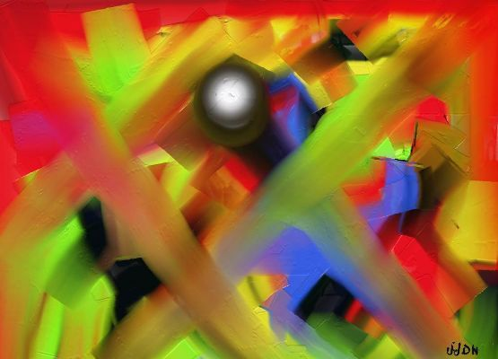 "P tank - Painting, ©2009 by Jeanjeandenice "" Jjdn "" -                                                                                                                          Abstract, abstract-570"