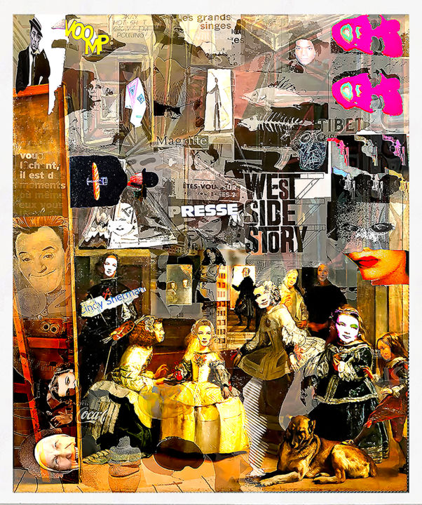meet other digital artists collage