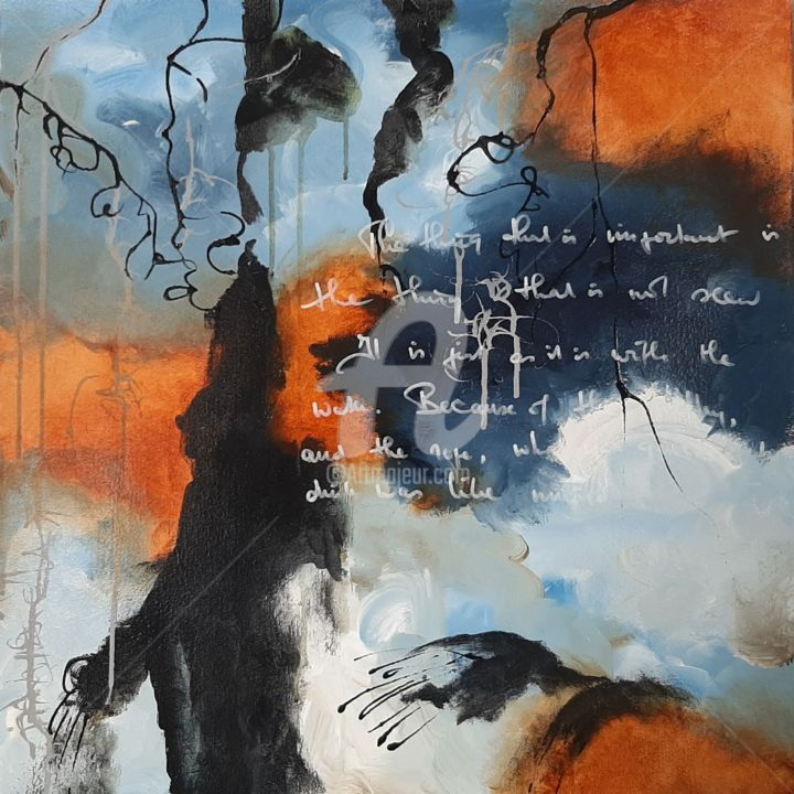 """Painting titled """"You Will Remember T…"""" by Jeanne Krabbendam, Original Art, Acrylic"""