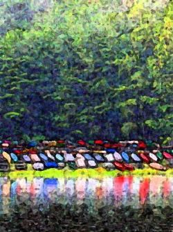 """Photography titled """"By The Dock"""" by Jessi Hamilton, Original Art,"""