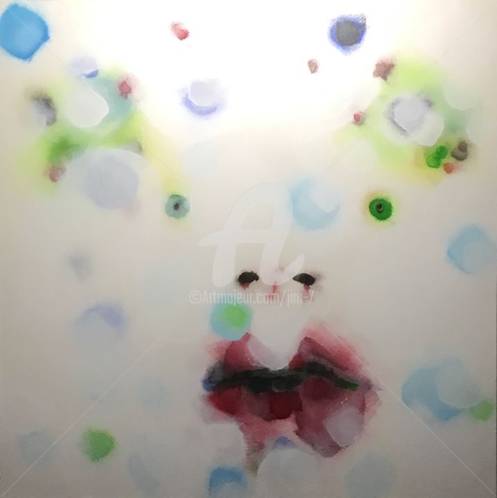 """Painting titled """"Under The Ice"""" by Jd Johnson, Original Art, Acrylic"""