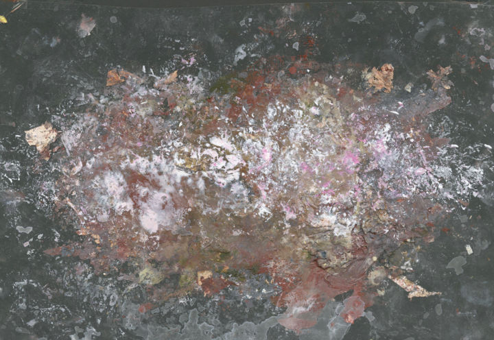 """Painting titled """"Milky Way (see full…"""" by Jim Fischer, Original Art, Oil Mounted on Wood Panel"""