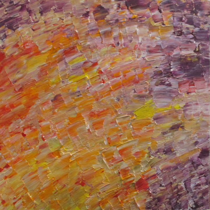 """Painting titled """"SOLD---Abstract Col…"""" by Jim Richards, Original Art, Acrylic"""