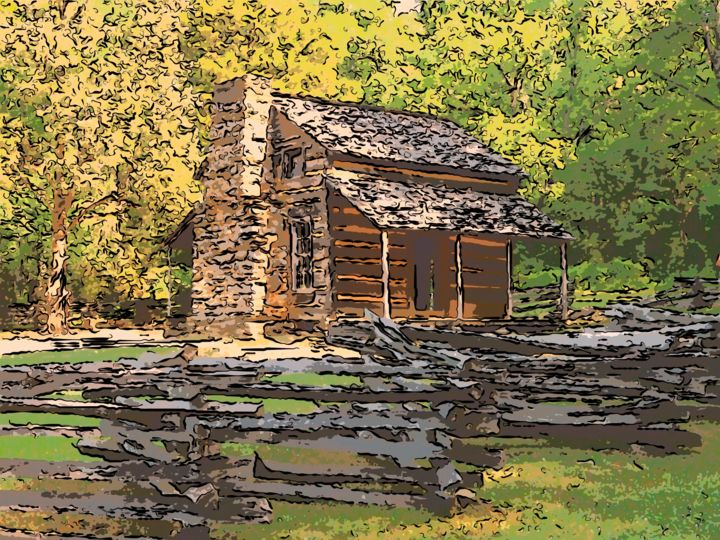 Hill Country Cabin Jack Cash Jr