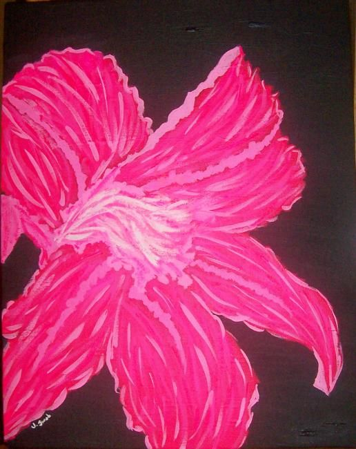 """Painting titled """"""""Lily"""""""" by J.Leigh, Original Art,"""