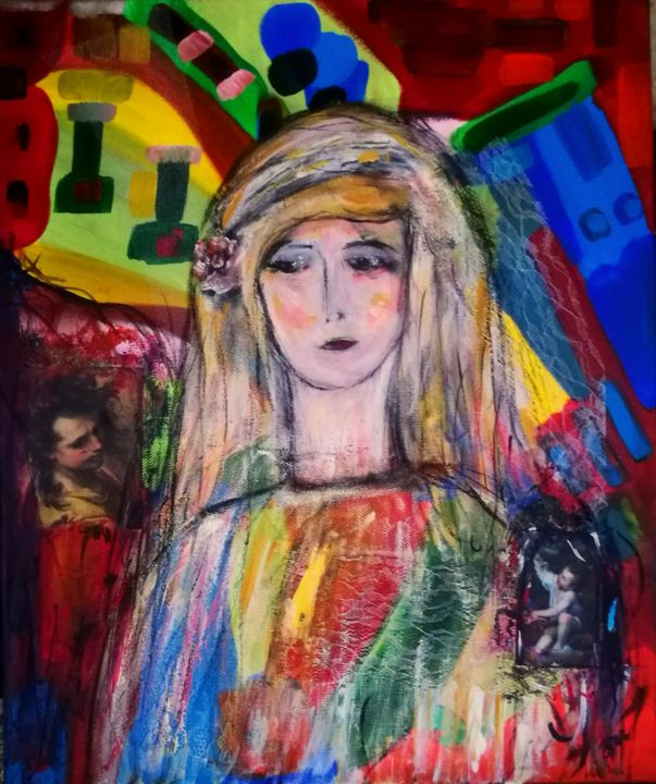 La fille de Dieu - © 2018  Online Artworks