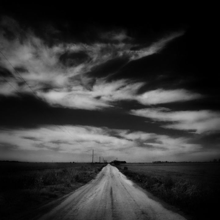 """Photography titled """"The Road West"""" by J. Montrell-Stark, Original Art,"""