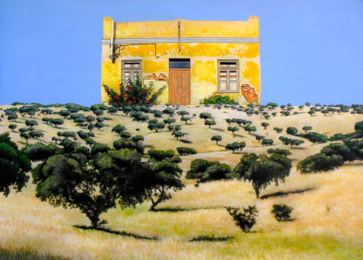 """Painting titled """"portugal-s-disappea…"""" by Jacqueline Moses, Original Art,"""
