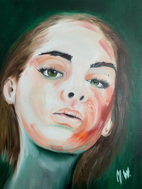 """Painting titled """"Nothing would chang…"""" by Joanna W, Original Art, Oil"""