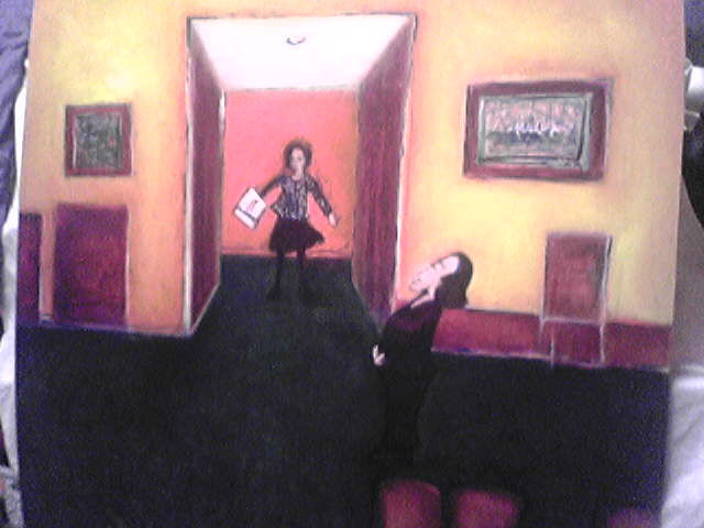 """Painting titled """"Doctor Ruth at Work"""" by Archispray Artist, Original Art,"""