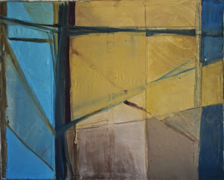 """Painting titled """"voiles-1-120x150cm.…"""" by Joanna Ostapiuk, Original Art,"""