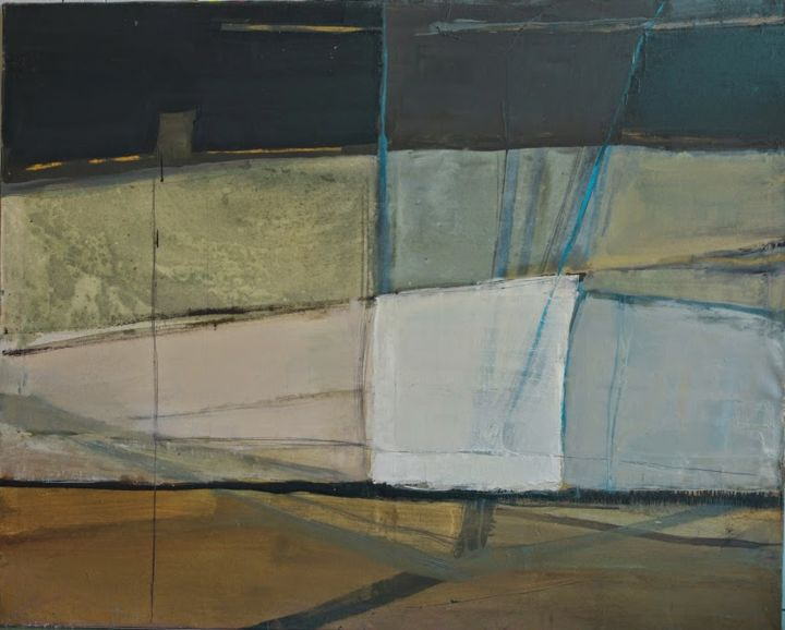 """Painting titled """"voiles-2-120x150cm.…"""" by Joanna Ostapiuk, Original Art,"""
