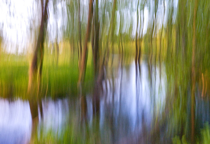 """Photography titled """"Dreaming About River"""" by Jola, Original Art, Digital Photography"""