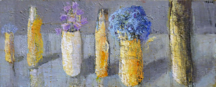 """Painting titled """"Still life with Cam…"""" by Jolanta Caban, Original Art, Oil"""