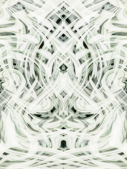 Mysterium - Digital Arts, ©2017 by Jon Woodhams -                                                                                                                                                                                                                                                                                                                                                                                                                                                                                                                                                                                                                                                                                                                                                                                                                                                                                                                                                                                                      Abstract, abstract-570, Abstract Art, abstract, art nouveau, mystery, limited palette, muted tones, muted palette, muted, swirls, contours, digital abstract art, digital abstract, digital arlt, art, digital, digital painting, woodhams, jon woodhams, contemporary art