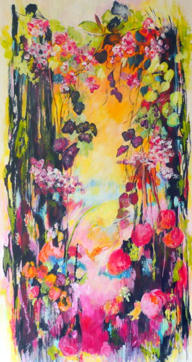 automne.jpg - Painting ©2014 by Josiane Chauvin -