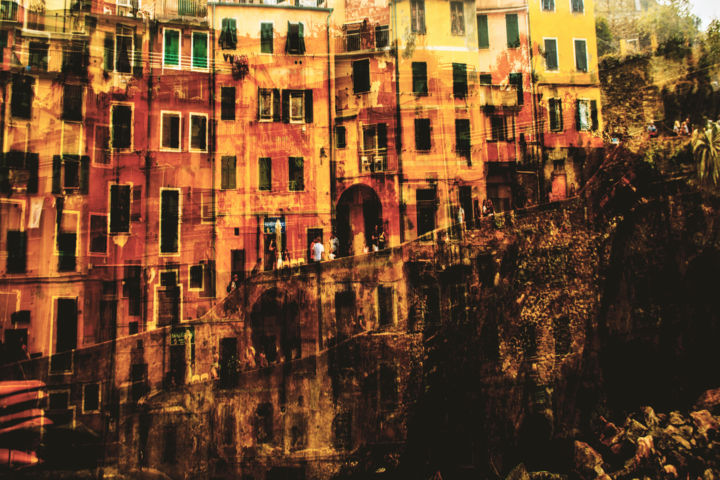 """Photography titled """"Riomaggiore"""" by Josip Biondić, Original Art, Digital Photography"""