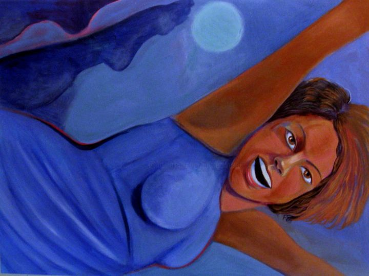 """JOY"", woman leaping for Mount Sinai Hospital - ©   Online Artworks"