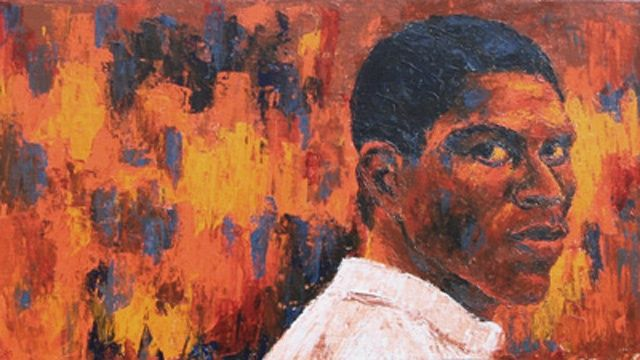 The Look - © 2010 Portrait of a young African American male Online Artworks