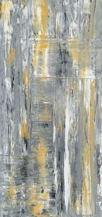 """Painting titled """"Stratus"""" by Judith Cahill, Original Art, Acrylic"""