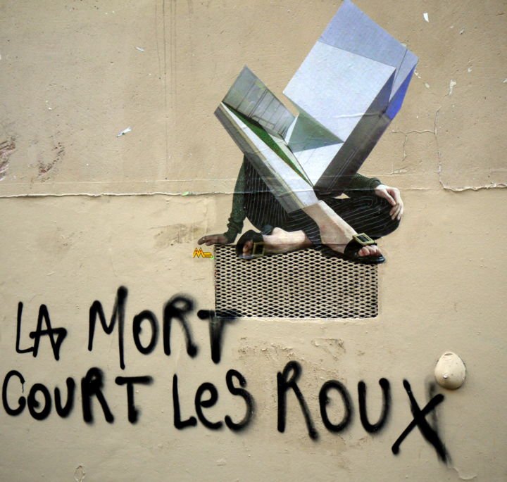 "Réponse au slogan ""L'amour court la rue"" - Photography ©2016 by Jürgen Briem -"