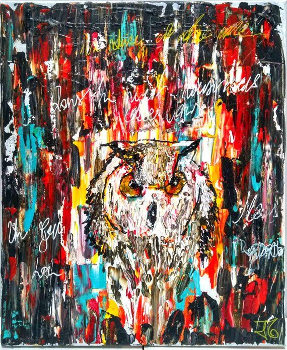 """Painting titled """"chant.jpg"""" by Julie Maryline, Original Art, Acrylic"""