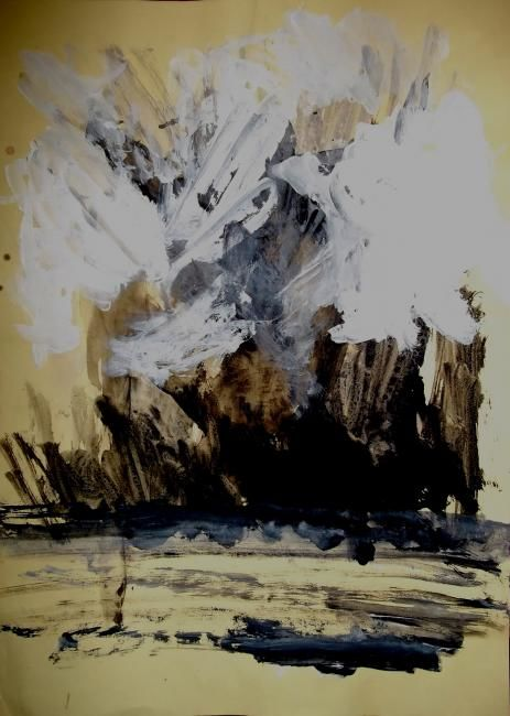from nowhere - Painting ©2012 by Juris Libeks -