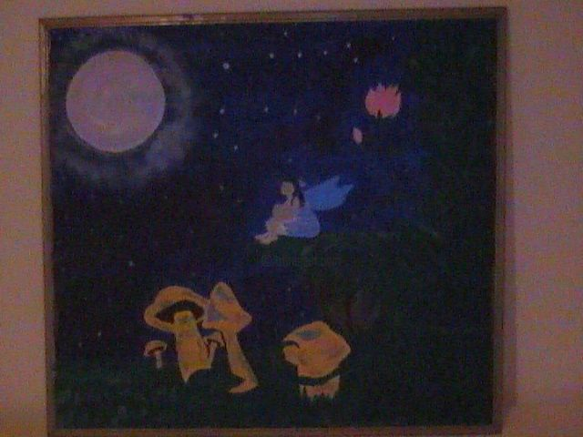 """Painting titled """"Secret Serenity"""" by Doc Willy, Original Art,"""