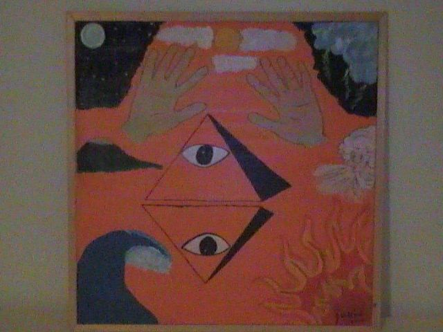 """Painting titled """"Elements of Mankind"""" by Doc Willy, Original Art,"""