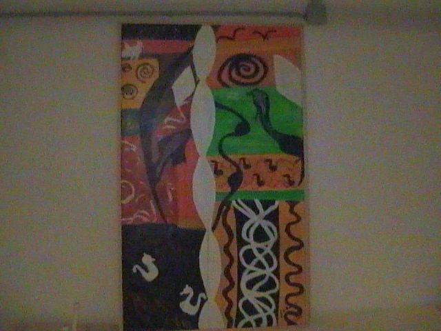 """Painting titled """"Abstraction"""" by Doc Willy, Original Art,"""