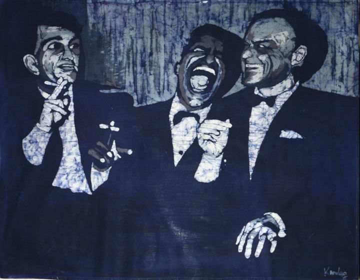 """Painting titled """"the rat pack-2014"""" by Katarzyna Moląg, Original Art, Other"""