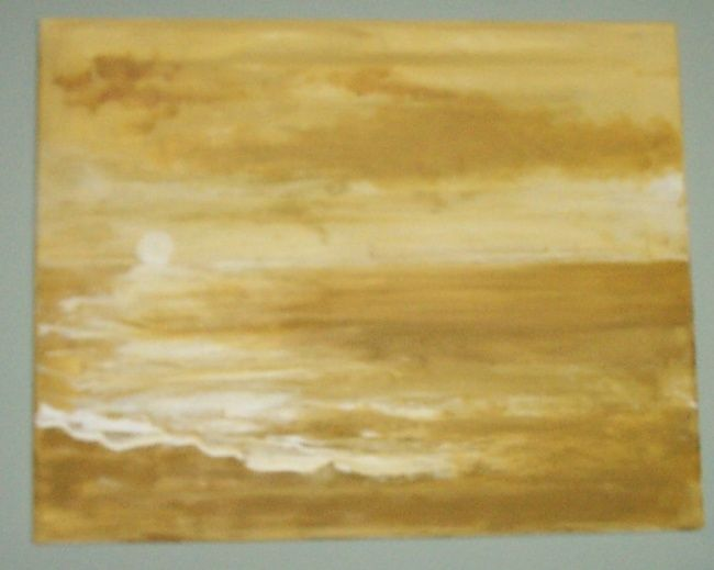 gold coast - Painting,  0.4 in, ©2007 by Kane -