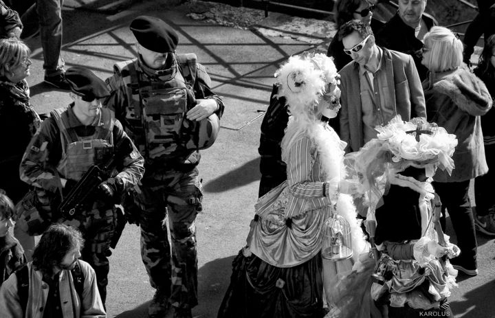 023.Carnaval-Annecy-2017 - ©  Actualité, Black and White Online Artworks
