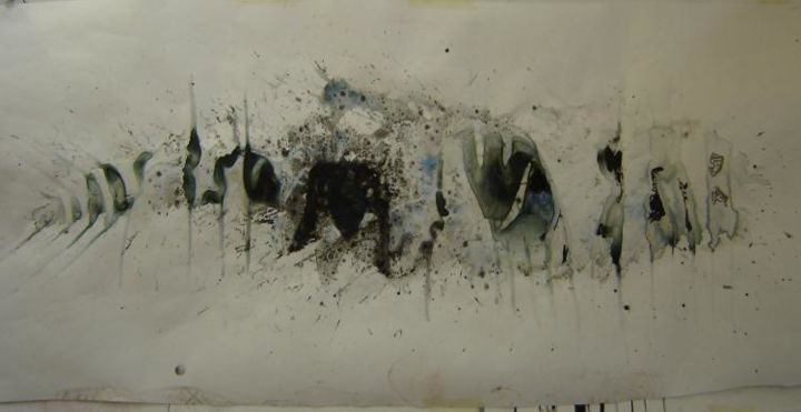 """Painting titled """"Experiment # 3 'The…"""" by Kat, Original Art,"""