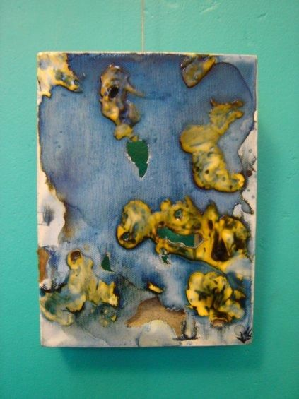"""Painting titled """"Experiment # 12"""" by Kat, Original Art,"""